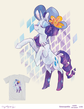 Rarity - WeLoveFine contest (please vote) by futuresparkle