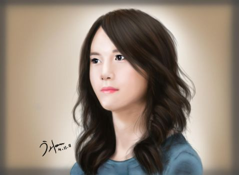 Yoona SNSD by Greiverer