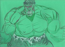 13 Days Halloween Hulking Rage by JohnReynolds