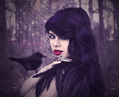 Raven Tongue by EclipxPhotography