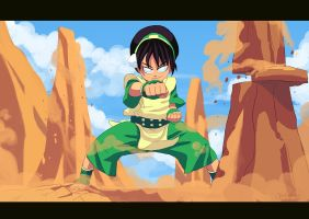 Toph by ArchaicEphony