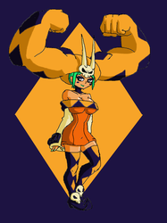 Skullgirls: Cerebella by Brian12