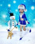 A Winter's Merriment by RavenMoonDesigns