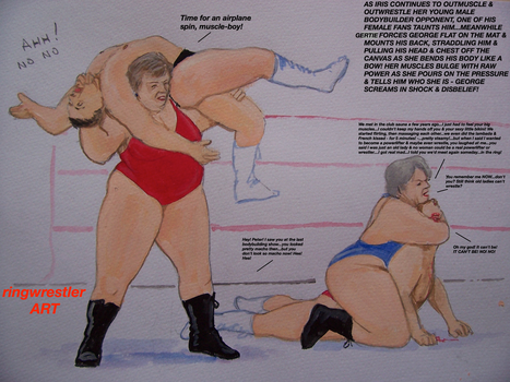 HTRRC7 - intergenerational inter gender tag match by supreme006