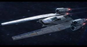 Star Wars Rogue One U-Wing by AdamKop