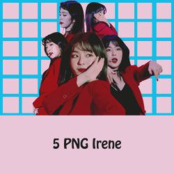5 PNG Irene by conbovancute