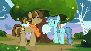 Coco and Tootsie at the Park by RayTheRoman