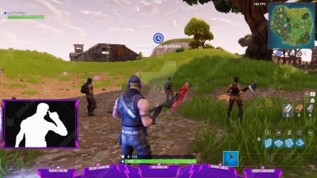 Fortnite Storm - Stream Overlay by lol0verlay