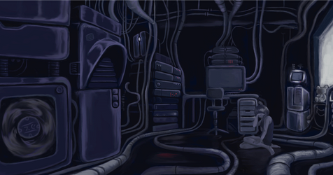 Serial Experiments Lain -  Gif by nlfrogger