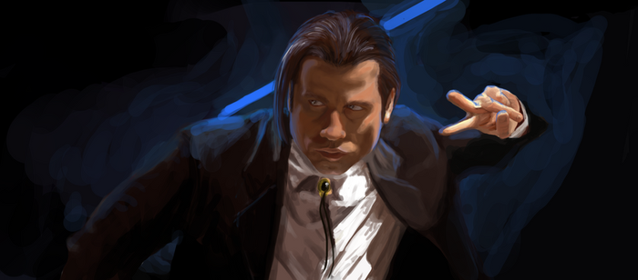 study: pulp fiction by Tillos