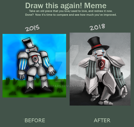 Wow improvement I can't believe it by Meepars