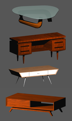 Four Tables by elrunethe2nd