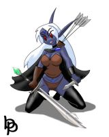 My first drow by ElBorja