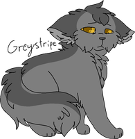 14 Greystripe (Remake) by Icedog-McMuffin