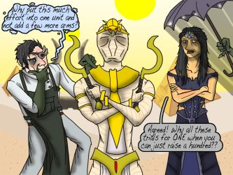 The Kings of the Castle don't like White Zombies by Internet-Ninja