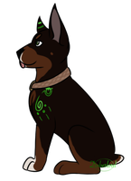 happiness is having a puppy by DoberIord