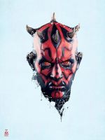 star wars - Darth Maul by tashamille