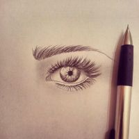 Eye sketch by Abz-Art