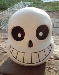 my sans mask by icedragonsheart
