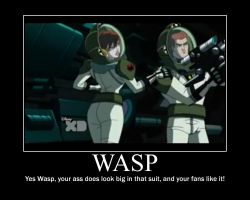 Wasp Motivation poster by van55555