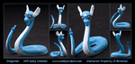 Commission : Dragonair by emilySculpts