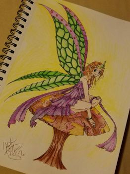 The Queen of Fairies. by rosey89107