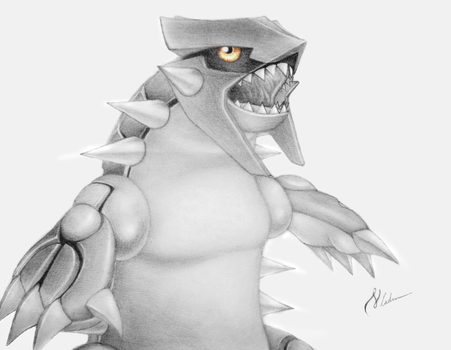 Groudon by ErnestoVladimir