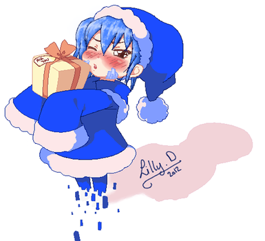 A present from Ene by Lillou-chan