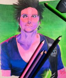Synyster Gates Prismacolor by InnocenceShiro