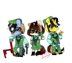 my suicide squad x'D (roleplay friend) by FattoDoggo