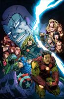 Avengers : The Crossing Omnibus HC by jessicakholinne