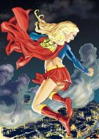 Supergirl by deankotz