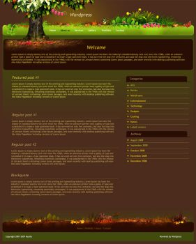 Magic Tree - A theme for blog by mediarays