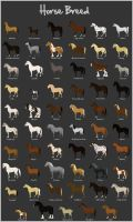 Horse Breed by Citron--Vert