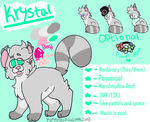 Krystal ref 2k18 (CURRENT) by KrystalRaccoon2002