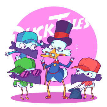 Duck Tales! by lost-angel-less