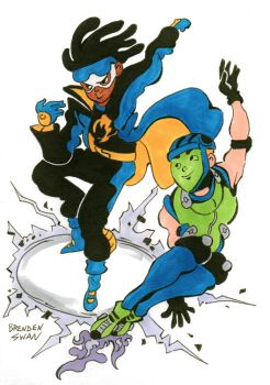 Static Shock and Gear by DisintegrationStreet