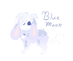 Blue Moon Tranceling  .:OTA OPEN:. by Featherwishes