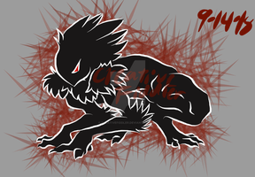 Nightmares Shadow-pounce by CreativeFiddler