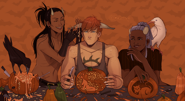 spooky gettogether by Dotswap