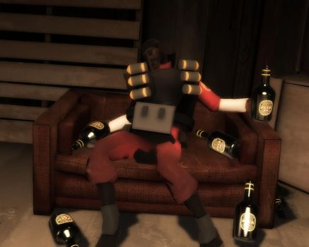 New Weapon: Faxe Bottle by TheCrymeTyme