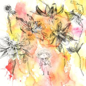Loa and the Talking Flowers by grenia