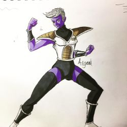 Purple Oc by Angeal17661