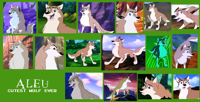 Aleu From Balto 2 Collage by Scamp4553