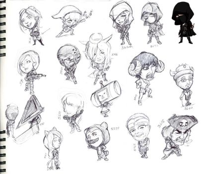 Pax East 2012 Rough Drafts by LastRyghtz