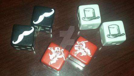 Custom made Monopoly Dice by Emmmmerz