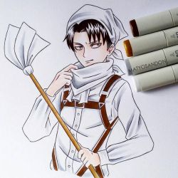 Levi cleaning  by matyosandon