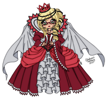 The Queen Of Hearts by slinkysis3