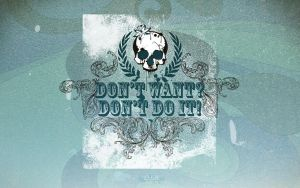 Don't want Don't do it by Shelest