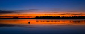 The Calm Dark Lakeview by LordHenkutt